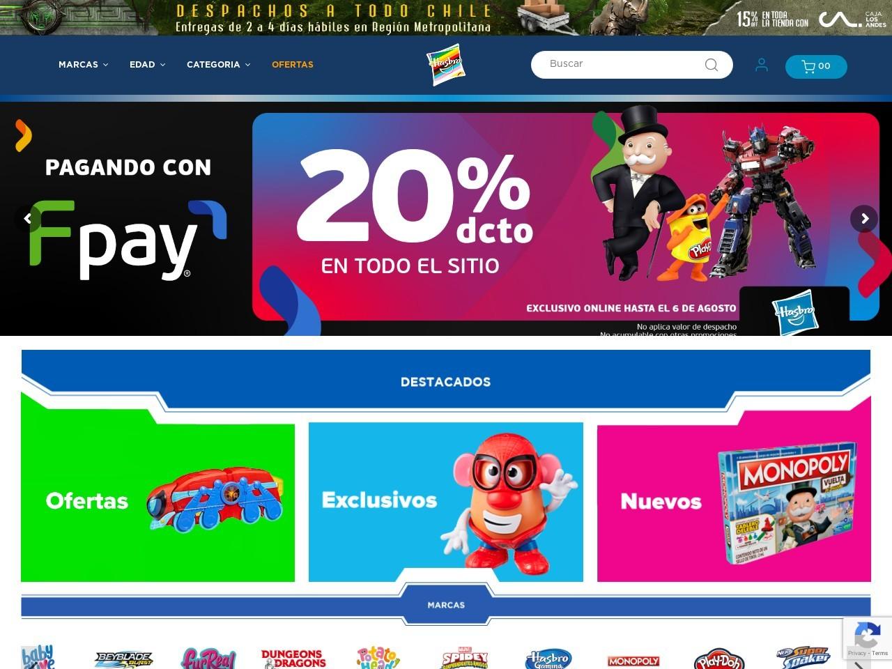 Hasbro Store Chile