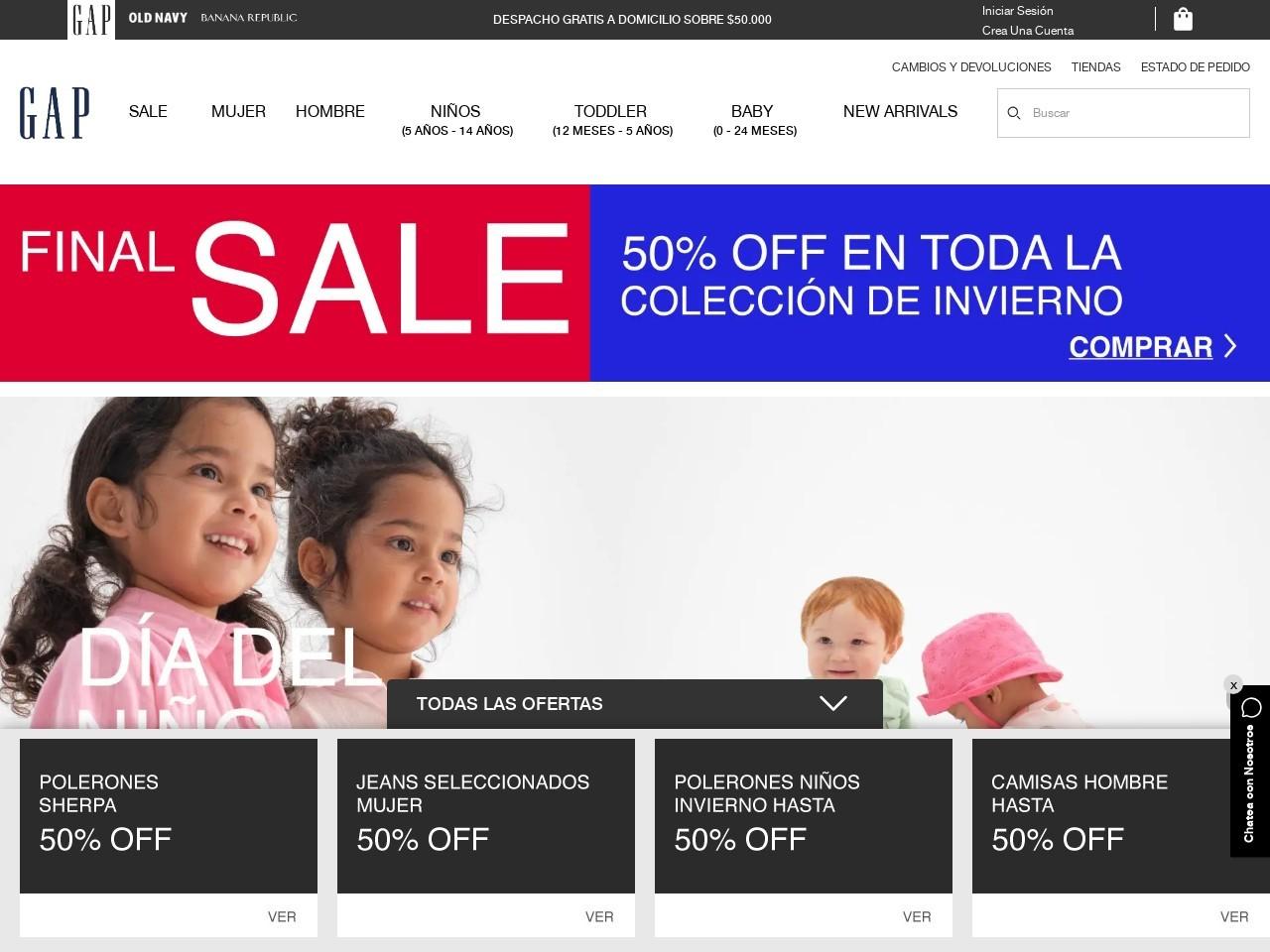 Gap Chile