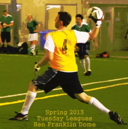 Ottawa Footy Sevens Tuesday league action