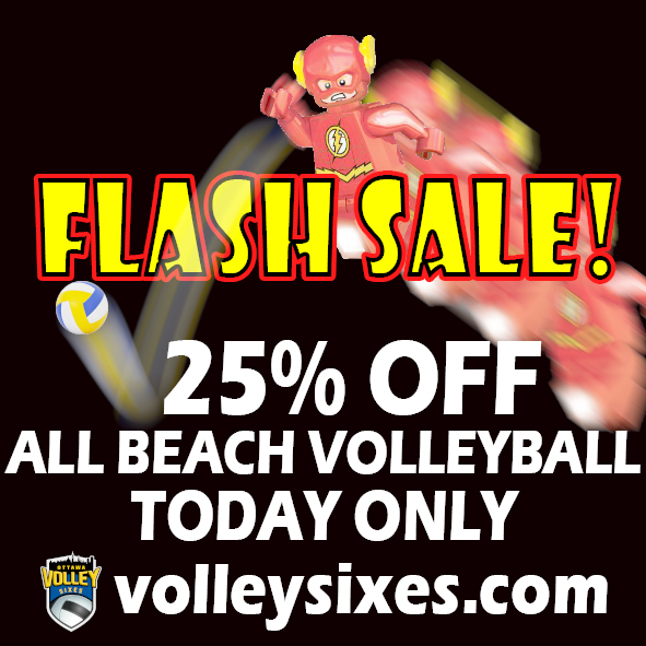 Flash Sale Square Volley March 9th