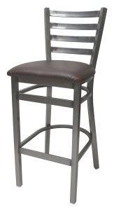 7800 Series - Metal Ladderback with Upholstered Seat
