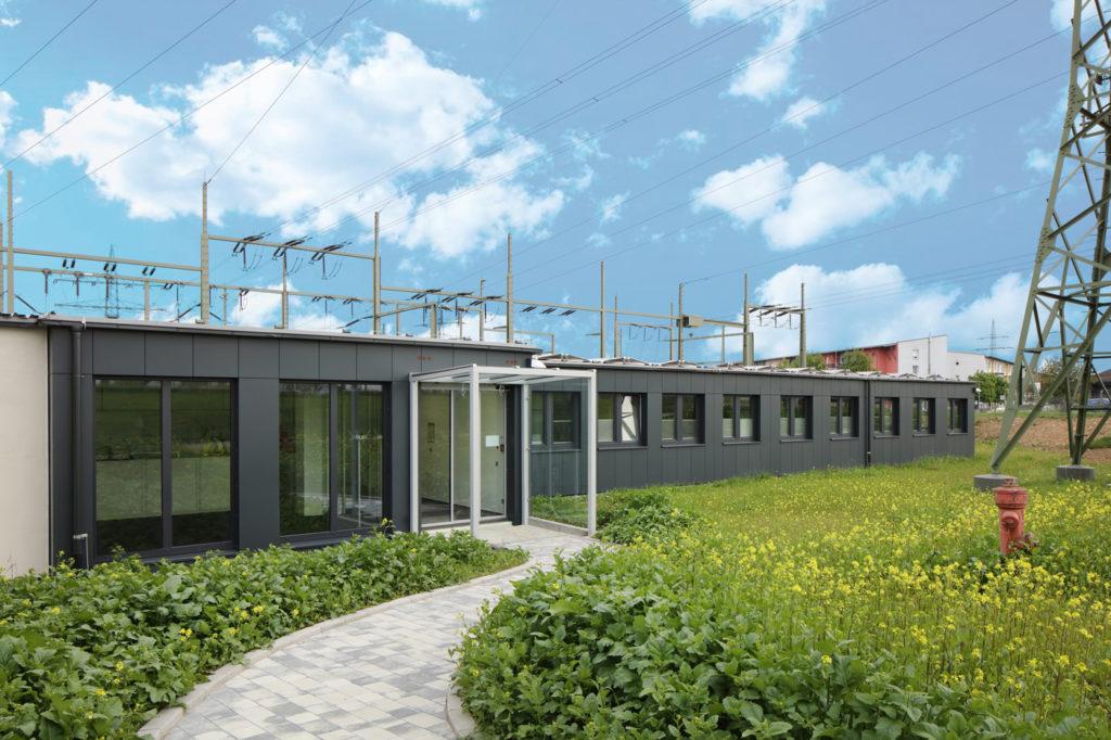 , Würzburger GmbH und Heinkel Modulbau GmbH erweitern Netzleitstelle der ED Netze GmbH, Rheinfelden in Modulbauweise, Heinkel Modulbau