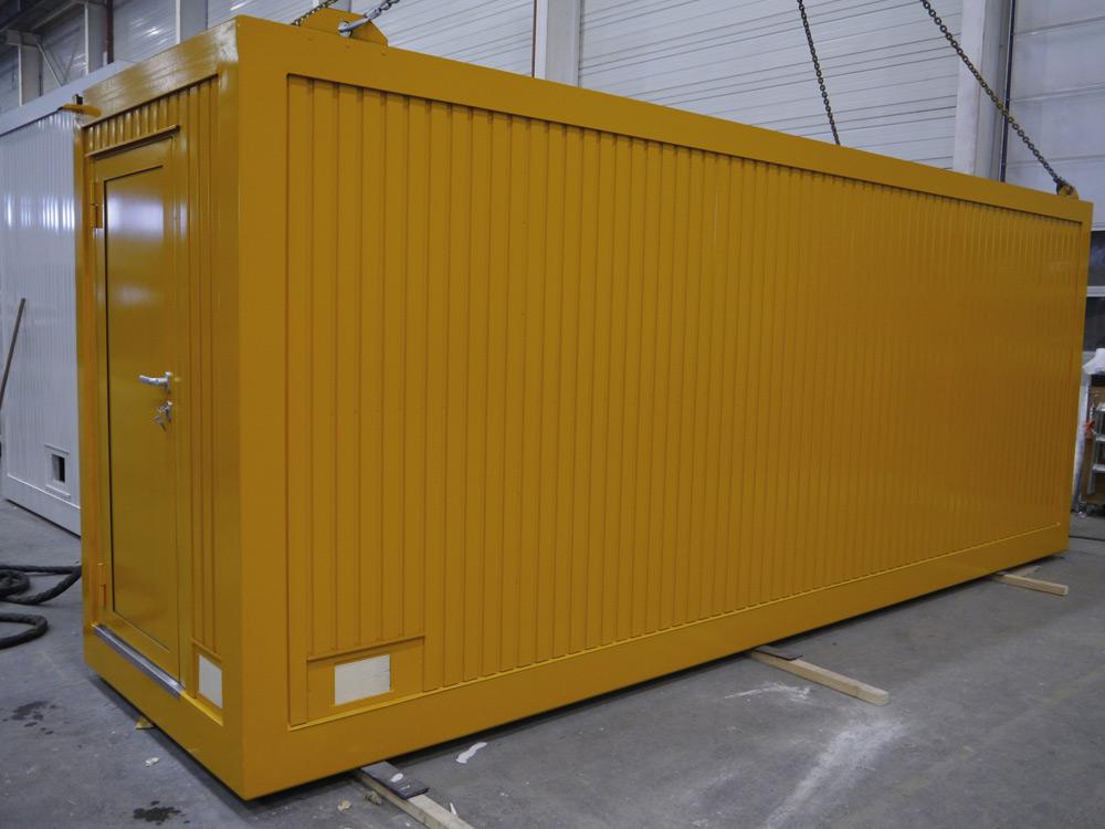 , Technikcontainer, Heinkel Modulbau
