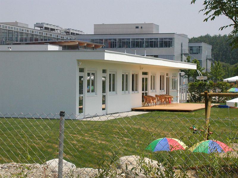 , Kindergarten Martinsried, Heinkel Modulbau