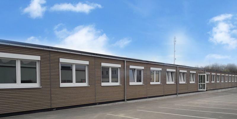 , Heinkel Modulbau realisiert eine Büroerweiterung in Modulbauweise für die DAS Environmental Expert GmbH in Dresden., Heinkel Modulbau