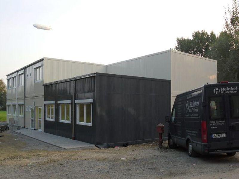, Hochschule Friedrichshafen, Heinkel Modulbau
