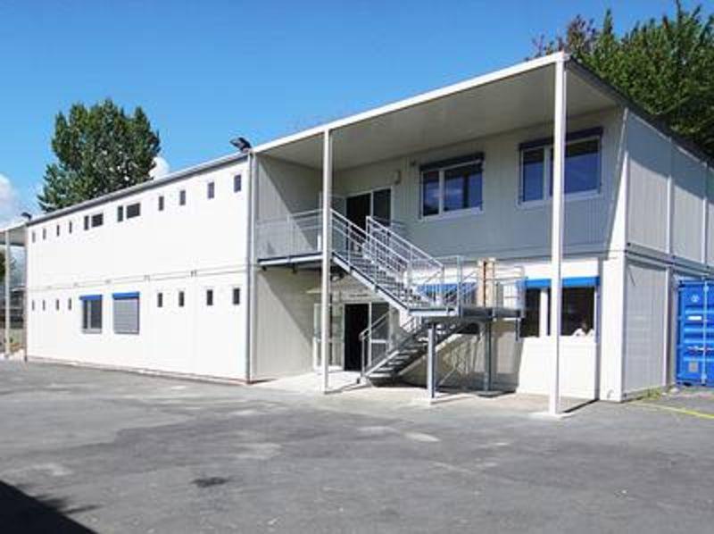 , Europäische Schule, Frankfurt, Heinkel Modulbau