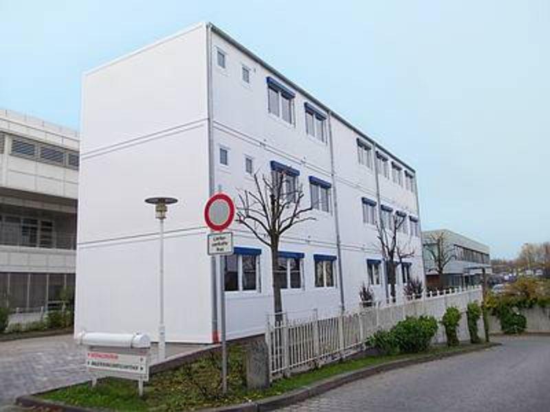 , Ausweichquartier UNI, Straubing, Heinkel Modulbau