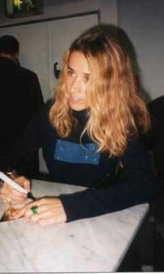 signing session with Heather Nova, November, 5th 1998, PRINZ-Medienhaus, Mannheim