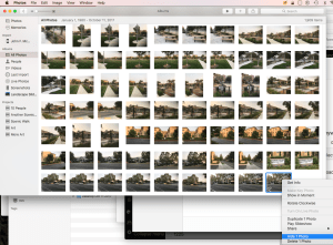 Right Click on Selected Photos to Hide in Apple Photos 2.0