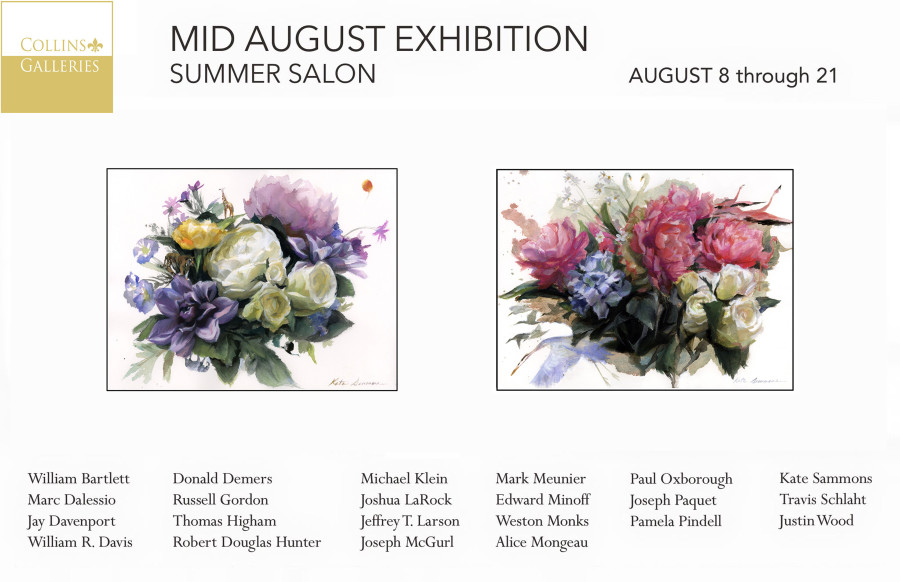 Mid August Summer Salon at Collins Galleries