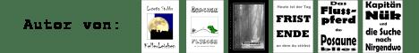 Lutetia Stubbs: KellerLeichen, Drachen Fliegen - Ein fast realistisches Märchen, November, Fristende, Das Flusspferd, das Posaune blies, Kapität Nük und die Suche nach Nirgendwo
