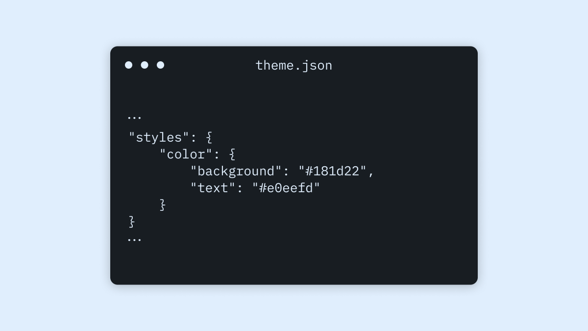 """Starting in WordPress 5.8, a new tool — """"theme.json"""" — is available to use in your theme. Maybe you're hearing about it for the first time,"""