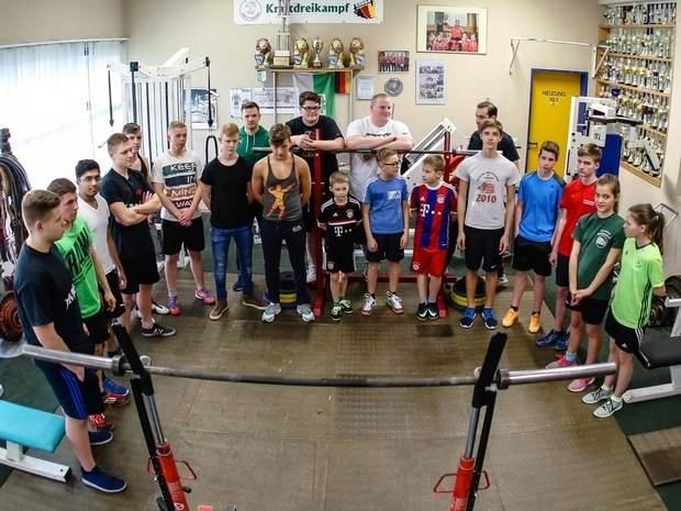 Kinder- und Jugendspiele Kraftsport 1