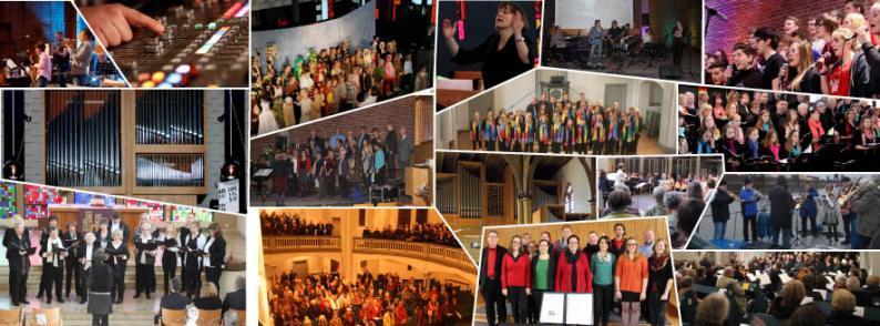 Collage Kirchenmusik