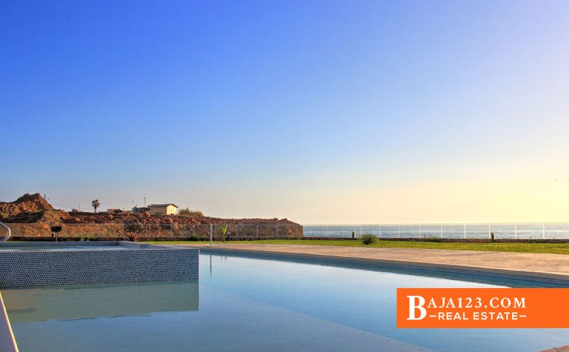SOLD – Oceanfront Penthouse For Sale in La Jolla Excellence, Rosarito Beach – USD $765,000