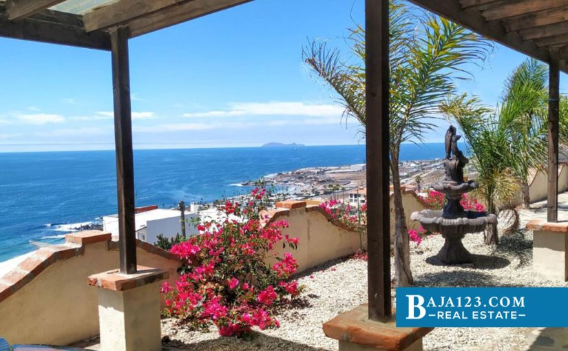 Ocean View Home For Sale in Terrazas del Pacifico, Playas de Rosarito