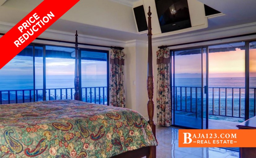 PRICE REDUCTION – Ocean View Penthouse For Sale in Quinta del Mar, Rosarito Beach – USD $175,000