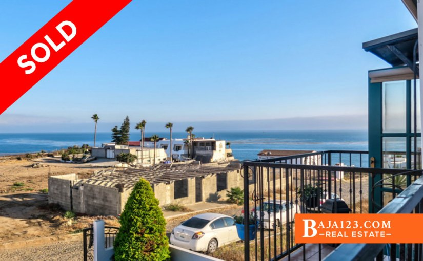 SOLD – Ocean View Home For Sale in Cantiles Dorados, Rosarito Beach