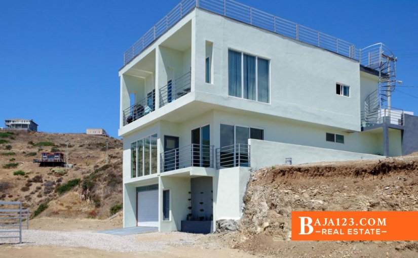 EXPIRED – Ocean View Home For Sale in Costa Hermosa, Rosarito Beach – USD $297,000