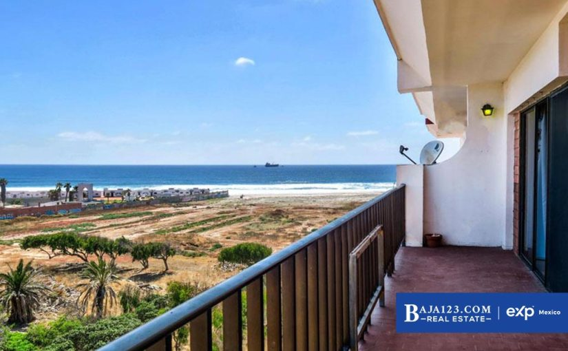 Ocean View Condo For Sale in Quinta del Mar, Rosarito Beach – $154,999 USD