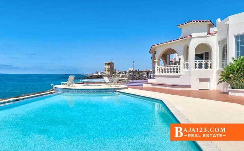 Oceanfront Home For Sale $1,050,000 USD in Castillos del Mar, Playas de Rosarito