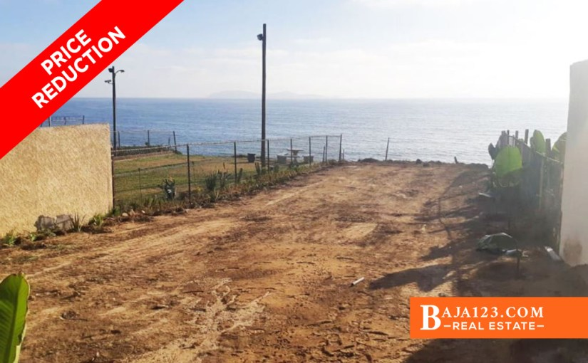 PRICE REDUCTION – Oceanfront Lot For Sale in Punta Bandera, Tijuana
