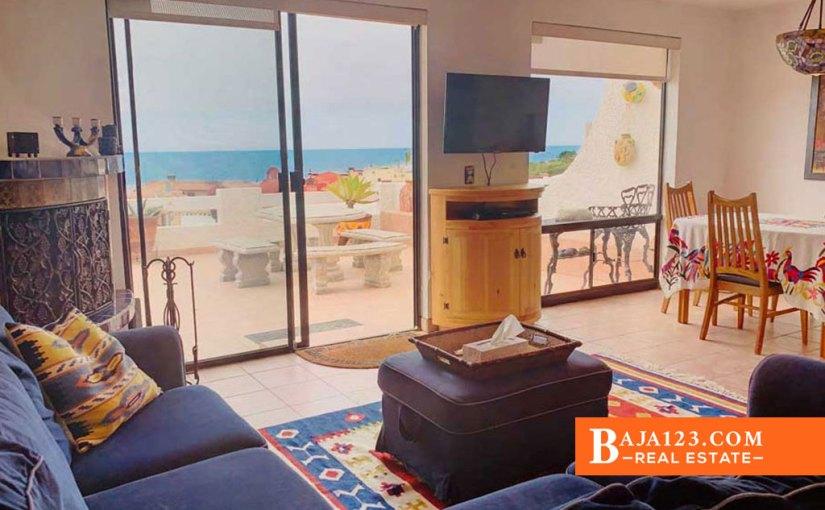 Ocean View Home For Sale in Plaza Del Mar, Playas de Rosarito – $199,000 USD