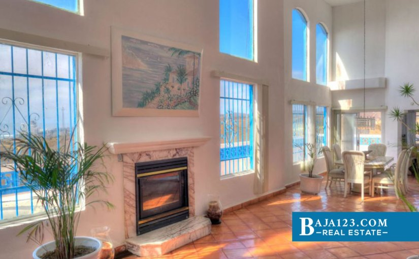 Ocean View Home For Sale in El Morro, Playas de Rosarito