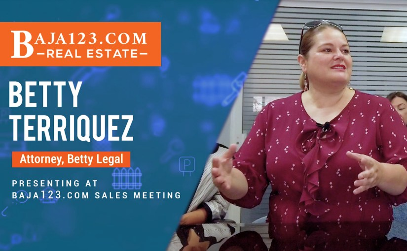 Betty Legal Rosarito beach Attorney