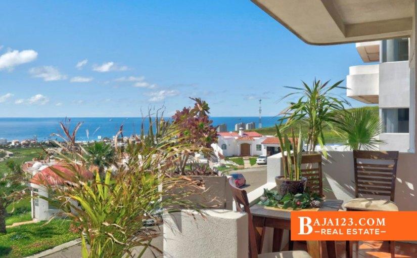 Ocean View Condo For Sale in Costa de Oro Rosarito Beach