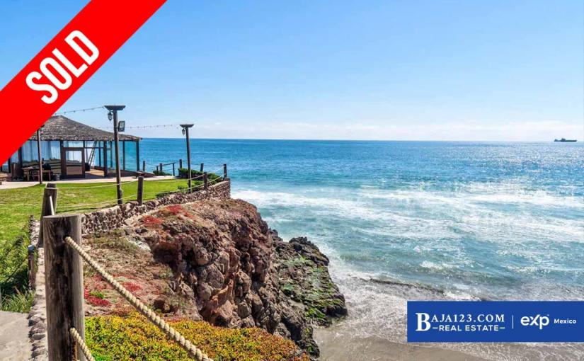 SOLD – Ocean View Home For Sale in Castillos del Mar, Playas de Rosarito – $289,000 USD