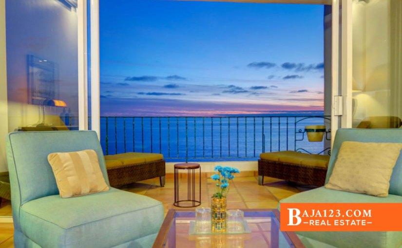 Oceanfront Condo For Sale in Club Marena, Rosarito Beach – USD $947,000