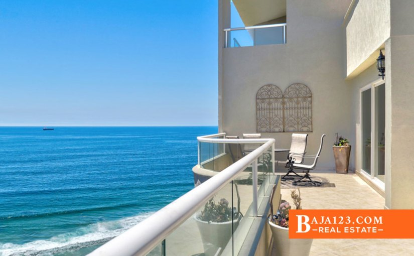 Oceanfront Condo For Sale in La Jolla Del Mar, Rosarito Beach – USD $445,000