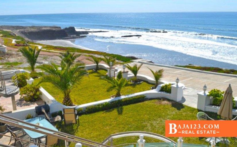 Oceanfront Home For Sale in Real Mediterraneo, Tijuana – USD $720,000