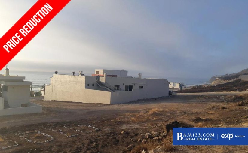 PRICE REDUCTION – Ocean View Lot For Sale in Plaza Del Mar, Playas de Rosarito – $124,900 USD
