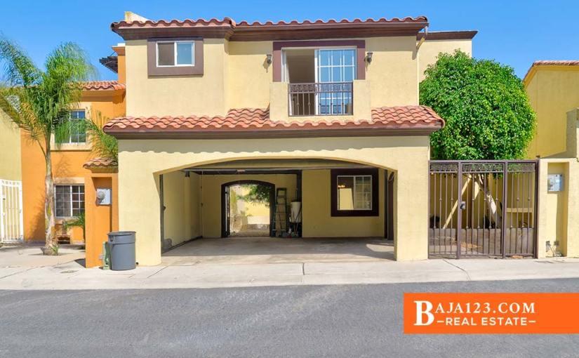 Mediterranean Home For Sale in San Marino, Tijuana – $169,500 USD