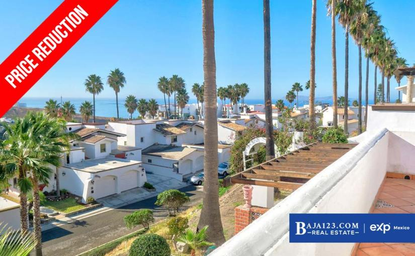 PRICE REDUCTION – Ocean View Home For Sale in Real Del Mar, Tijuana – $349,000 USD