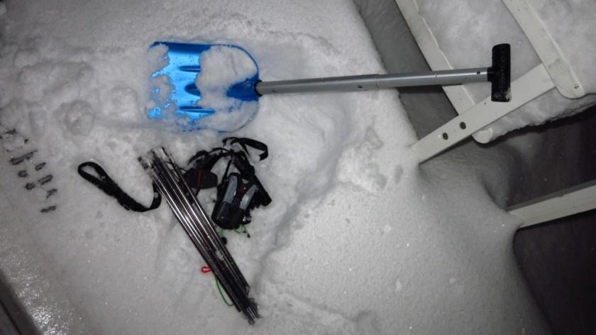 Schneeschaufel & Lawinenpiepser & Lawinensonde