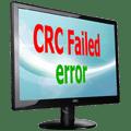 CRC failed