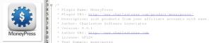 daily update moneypress info