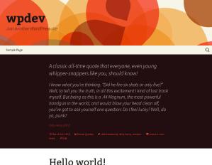 WordPress 3.6 preview