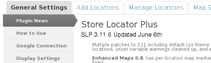 Plugin News Store Locator Plus