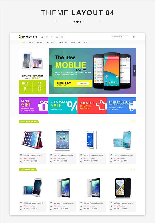 VG Optician - Responsive eCommerce WordPress Theme - 9