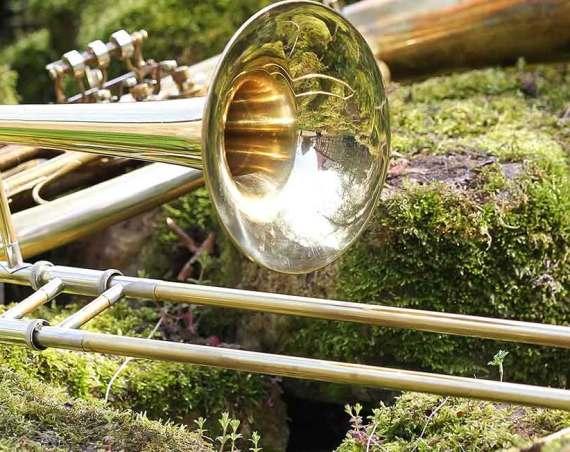 Meine Leidenschaft für Blechblasinstrumente, insbesondere zur Posaune