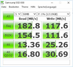 Samsung SSD 830 Benchmark