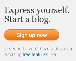 How to sign up for a free blog