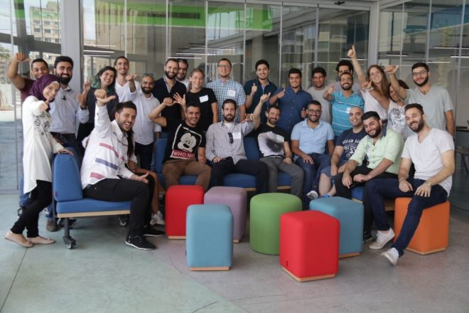 Group of participants from do_action Beirut