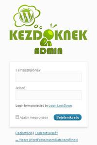 Saját logó a WordPress admin felületén
