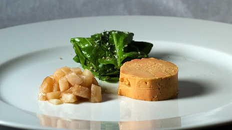 foies gras poire